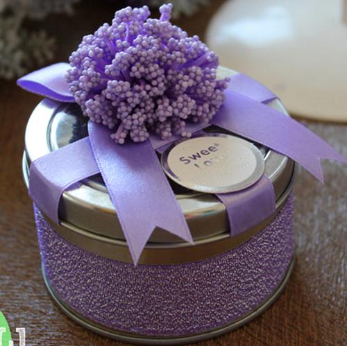 小花花喜糖盒